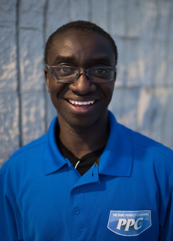 Headshot image of new team member Yacouba | Picture Perfect Cleaning