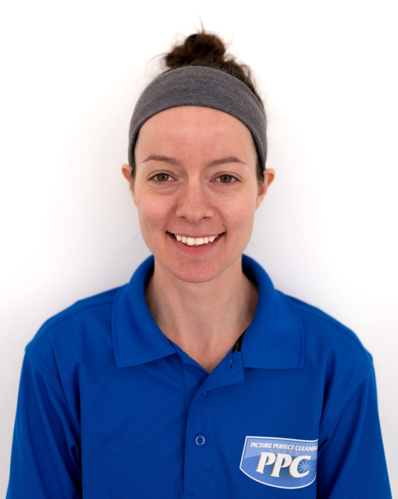 Headshot photo of new Picture Perfect Cleaning hire Ashley