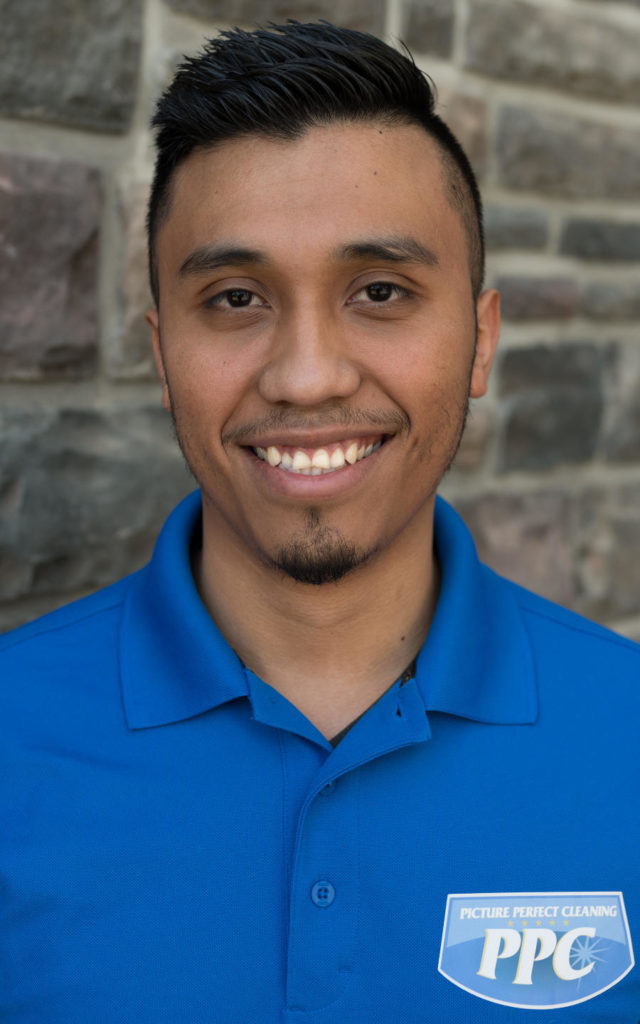 Headshot image of new Picture Perfect Cleaning team member Gabriel