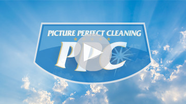Picture perfect cleaning video thumbnail for a blog post