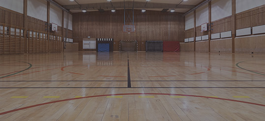 Thumbnail image of a basketball court gymnasium | Picture Perfect Cleaning